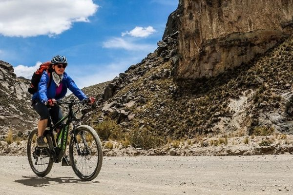 E bike journey Peru