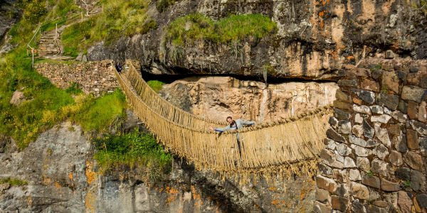 Qeswachaka Cusco Inca Bridge