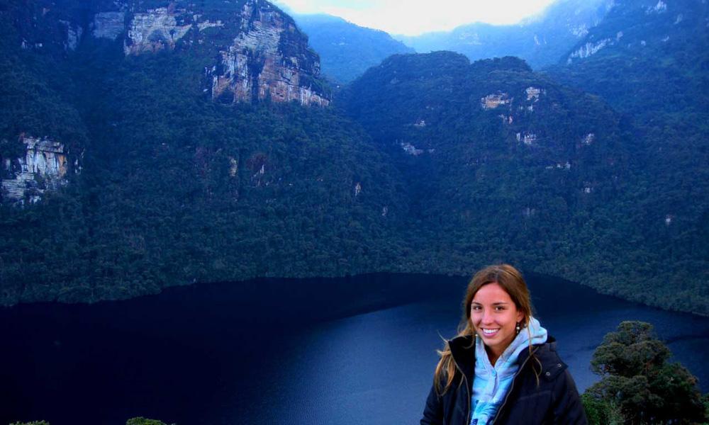 Adventure Peru Path Lake of the condors