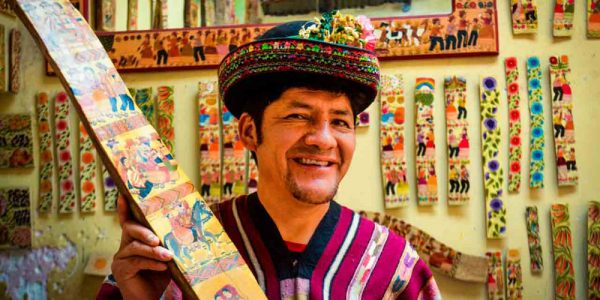 Ayacucho arts and crafts: Marcial Berrocal