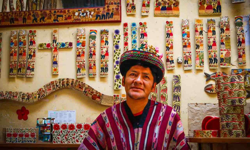 Ayacucho Peru Arts Crafts tabla sarhua