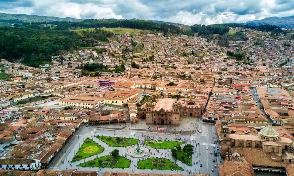Cusco Main Square Peruvian Soul