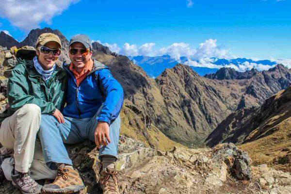 Hiking Inca Trail to Machu Picchu