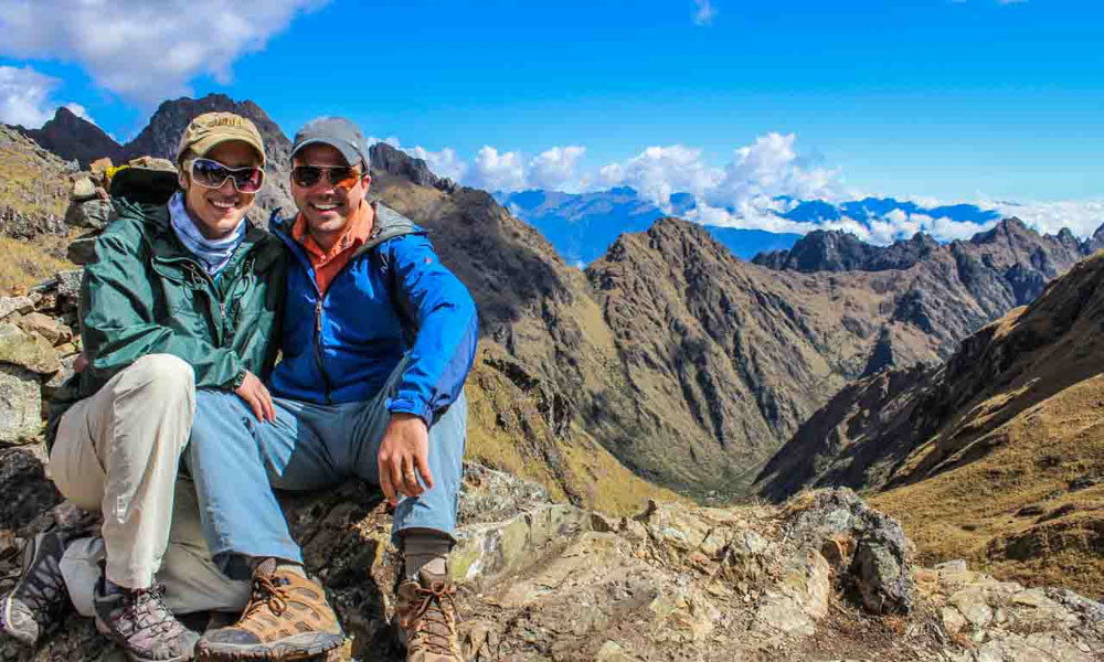 Hiking Inca Trail to Machu Picchu