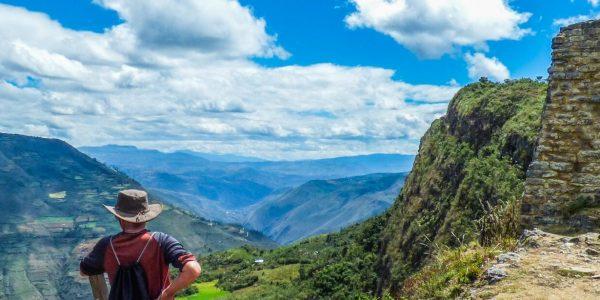 Panoramic view of Kuelap