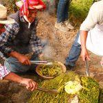Pachamanca Peru Traditional food