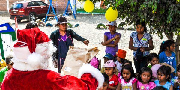 Papanoel trekero in Pachacamac