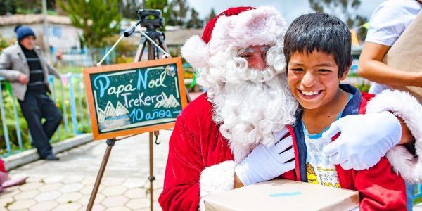 Santa Claus is in Pampas