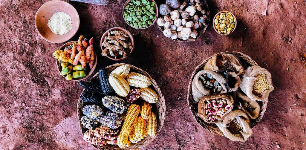 Flavors of the Peruvian cuisine