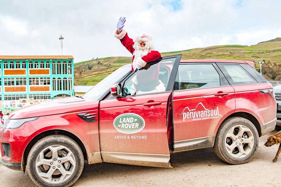 Santa Claus arriving in Pampas!