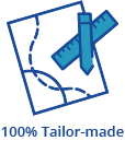 100% tailor made