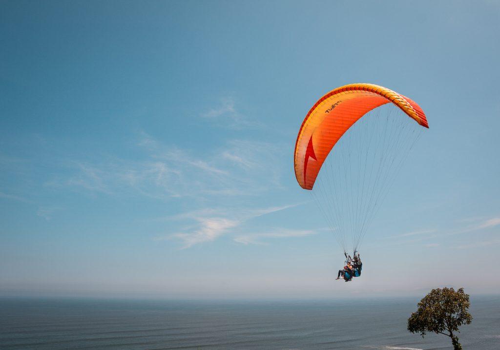 Avdenture in Lima Paragliding Miraflores
