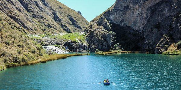 Huancaya lagoon, Nor Yauyos Cochas Reserve