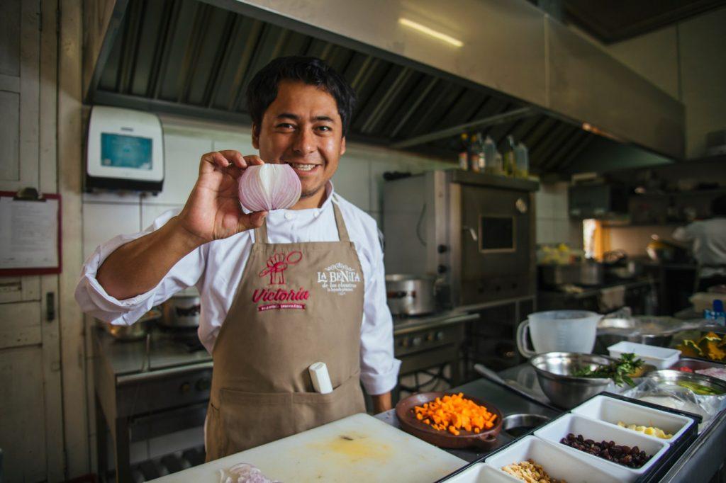 Cooking classes in Arequipa. Victoria Democratica Restaurant