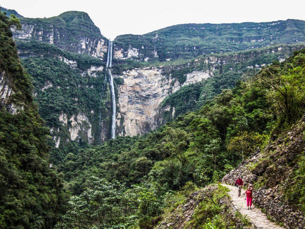 Hike to Gocta waterfall, Amazonas
