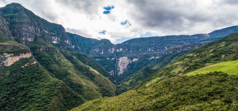 Gocta waterfall, Amazonas