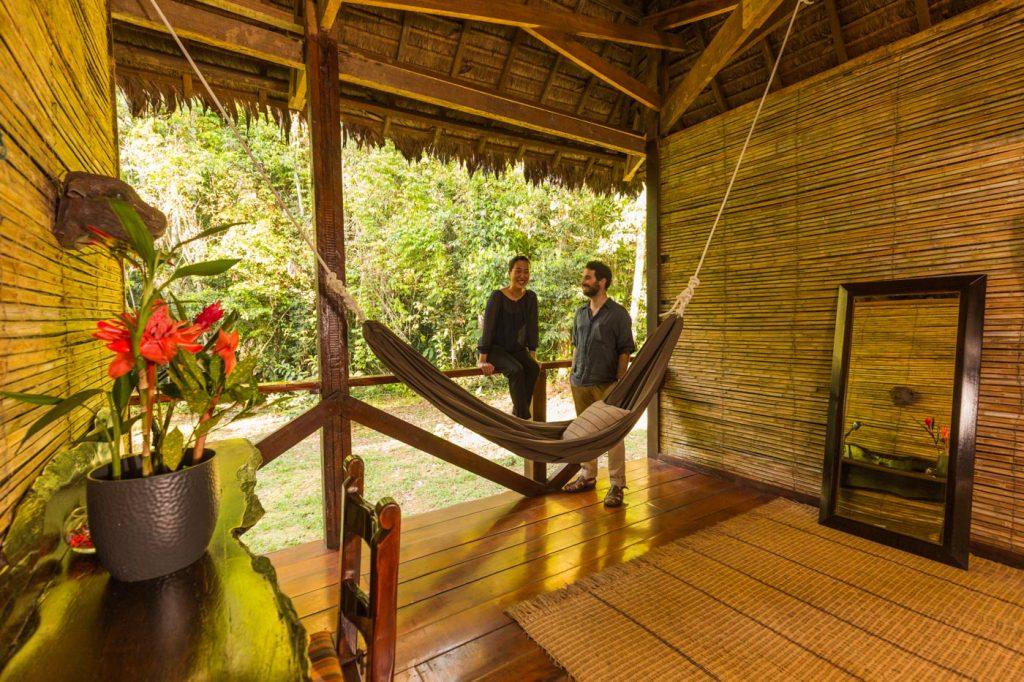 Honeymoon trip in a private Amazon home, Peru