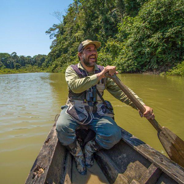 Fernando Angulo, Expert Birdwatcher