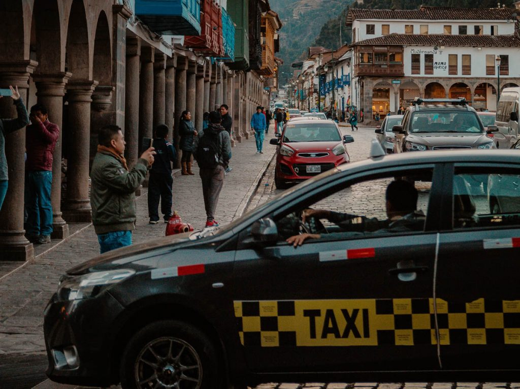 Could it be safe to use public transportation or taxi?