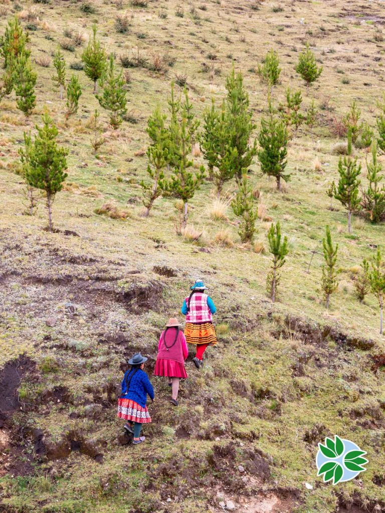 Local communities part of the project of Pachamama Raymi