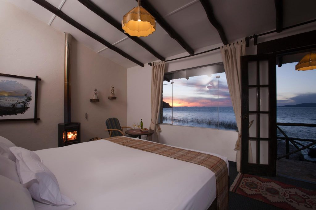 Room at Suasi Island Hotel, Suasi, Lake Titicaca